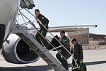 Aircrew boarding a RAAF E-7A at Red Flag in Feb 2013.jpg