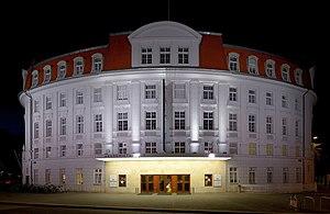 Akademietheater - The Akademietheater at night.