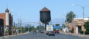 Alamogordo, New Mexico - Image: Alamogordo Tenth Street water tower long shot