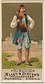 Albania, from the Natives in Costume series (N16) for Allen & Ginter Cigarettes Brands MET DP834811.jpg