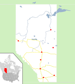 Locations Visited for Spring Conversations in Alberta