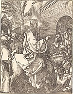 Albrecht Dürer, Christ's Entry into Jerusalem, probably c. 1509-1510, NGA 6756.jpg