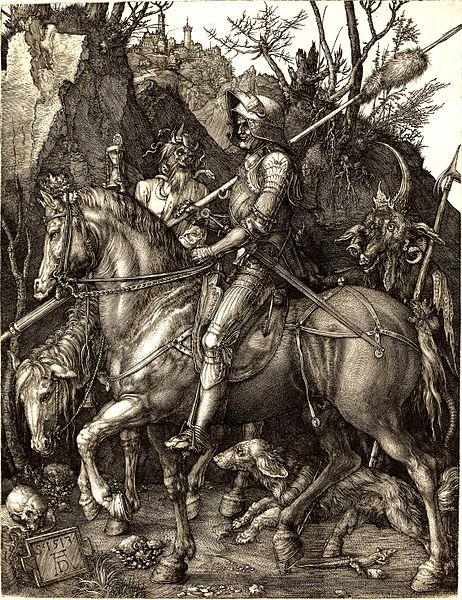 File:Albrecht Dürer - Knight, Death and the Devil.jpg