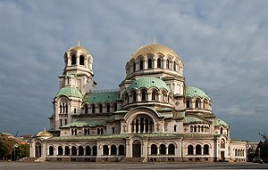 1912 in architecture - Alexander Nevsky Cathedral in Sofia