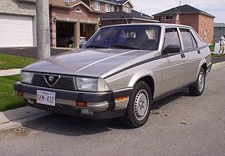 Alfa Romeo 75 Compact executive car