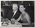 Alfred Hitchcock and Dorothy Lamour at the Stork Club.jpg