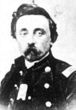 Battle of Lewis's Farm -  Colonel (Brevet Brigadier General) Alfred L. Pearson