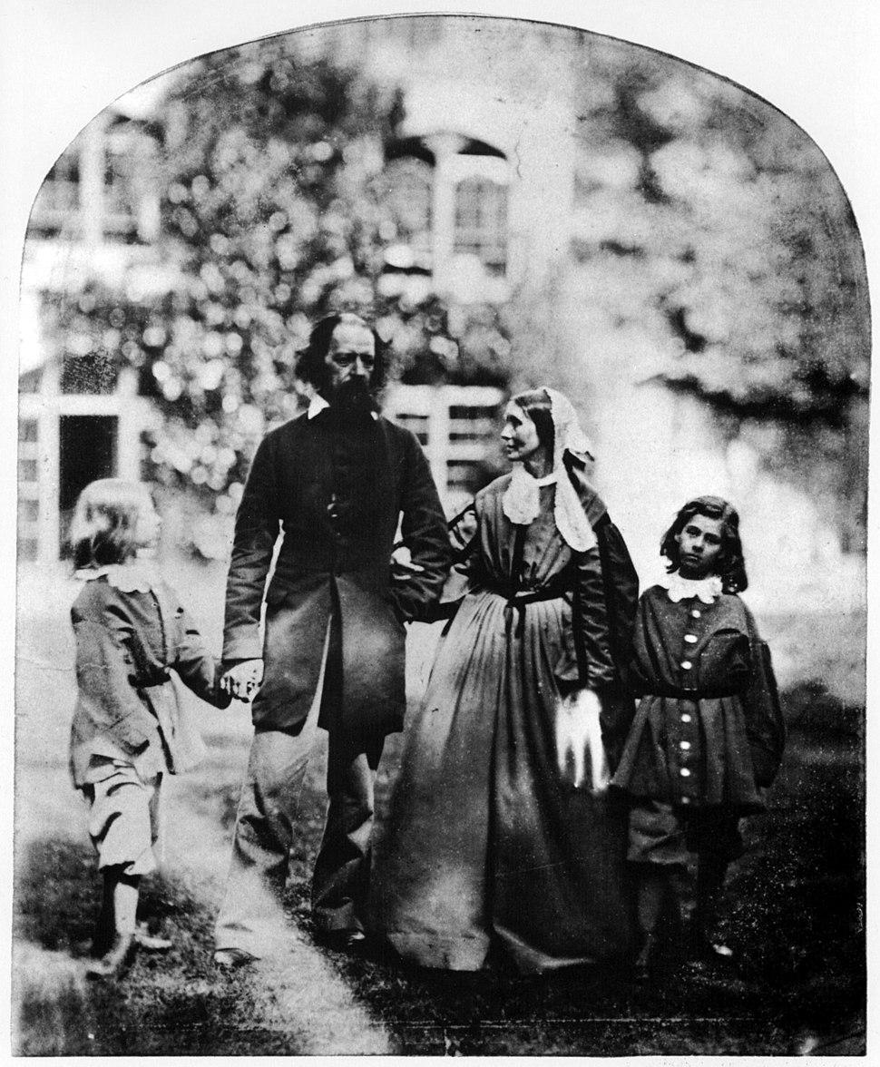 Alfred Tennyson, 1st Baron Tennyson and family