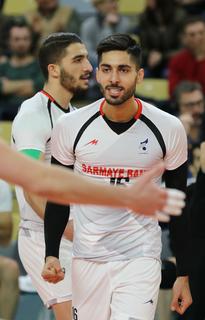 Ali Shafiei Iranian volleyball player
