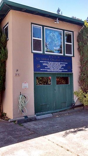 Ali Akbar College of Music - Ali Akbar College of Music, San Rafael location, in June 2014.
