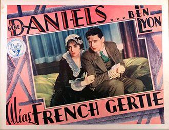 Alias French Gertie - Lobby card