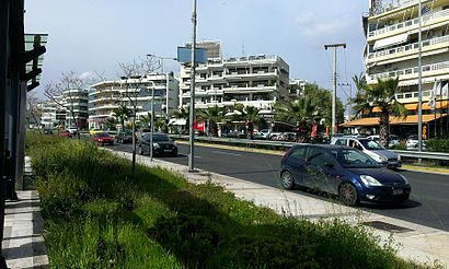 How to get to Άλιμος with public transit - About the place