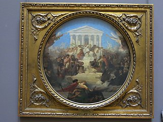 Allégorie du Triomphe des Arts et du Bien