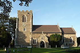 All Saints' Church, Clifton, Bedfordshire - from the south.jpg