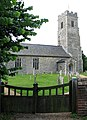 All Saints Church - viewed from the churchyard gate - geograph.org.uk - 1371767.jpg