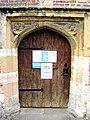 All Saints church, Sutton Courtenay - door - geograph.org.uk - 362339.jpg