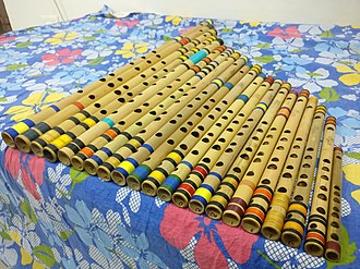 Bansuri - All scales of Bansuris in a set