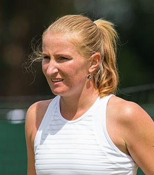 Alla Kudryavtseva - Image: Alla Kudryavtseva 5, 2015 Wimbledon Qualifying Diliff