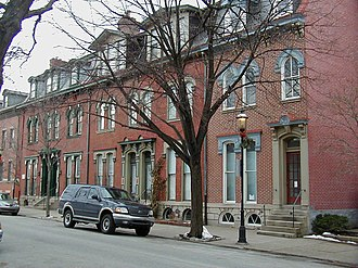 Allegheny West (Pittsburgh) - Victorian housing of Allegheny West