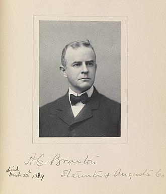Virginia Constitutional Convention of 1902 - Image: Allen Caperton Braxton