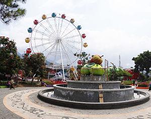Kota Batu, Indonesia - Alun-alun of Batu