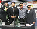 Alvaro Puentes y Gilberto Padilla ESPN Deportes Radio.jpg