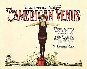 The American Venus - Lobby card