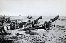 American heavy artillery at Soissons 1918 - NARA 45502668.jpg
