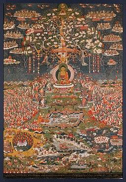 Amitayus Buddha in His Paradise