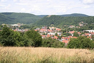 Principality of Leiningen - View of Amorbach