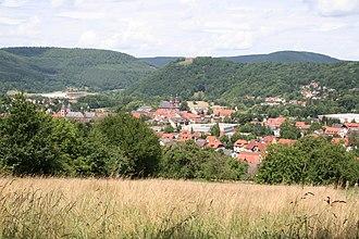 Amorbach - View of Amorbach