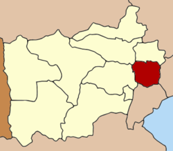Amphoe location in Ratchaburi Province