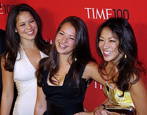 Amy Chua - Chua and her daughters at the 2011 Time 100 gala