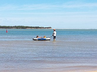 Inverloch, Victoria - Children Playing At Anderson Inlet