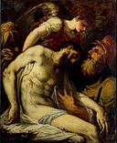Andrea Schiavone - Dead Christ supported by Angels.jpg