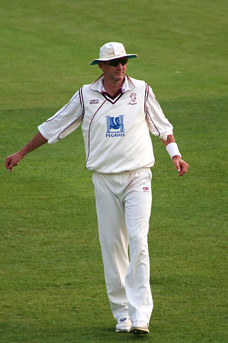 Andrew Caddick - Image: Andrew Caddick in Somerset County Cricket Club Colours