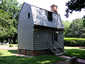 Andrew Johnson - Johnson's boyhood home, located at the Mordecai Historic Park in Raleigh, North Carolina
