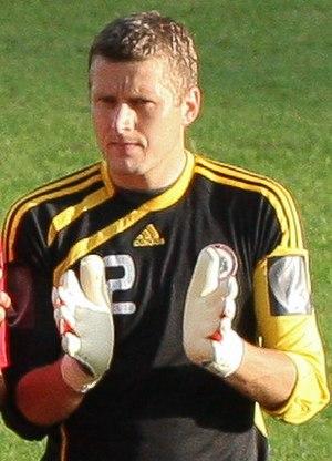 Andris Vaņins - Andris Vaņins playing for Latvia