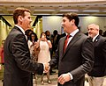 Andy Gardiner and Steve Crisafulli greet each other with a congratulatory handshake.jpg