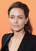 Photo of Angelina Jolie in 2014.