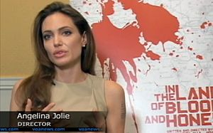 In the Land of Blood and Honey - Jolie speaks to the Voice of America about the film at the Sarajevo Film Festival.