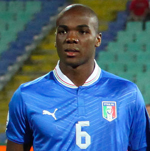 Angelo Ogbonna - Ogbonna with Italy in 2012