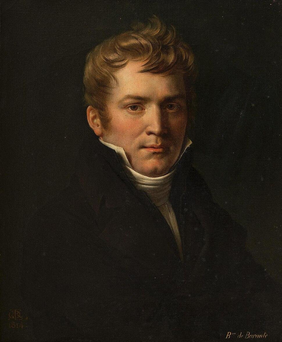 Anne-Louis Girodet - Portrait de Prosper de Barante