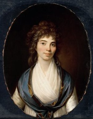Anne Cathrine Collett - Anne Cathrine Collett by Jens Juel