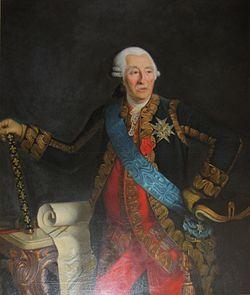 Château de Tocqueville - Portrait d'Anne Pierre d'Harcourt (1701-1783)