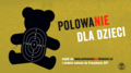 Anti-hunting poster ban young people from hunting Poland 01.png