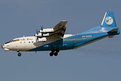 Antonow An-12BP der Silk Way Airlines