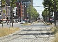 Antwerpen - Antwerpse tram, 23 juli 2019 (107, Londenstraat, station Londen).JPG