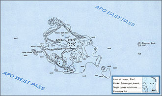 Apo Reef - The reef system of Apo Reef in Occidental Mindoro.