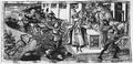 Apollonio di Giovanni, Tod des Laokoon, Deckfarbenminiatur Florenz Riccardiana Cod. 492 fol. 78 v.png